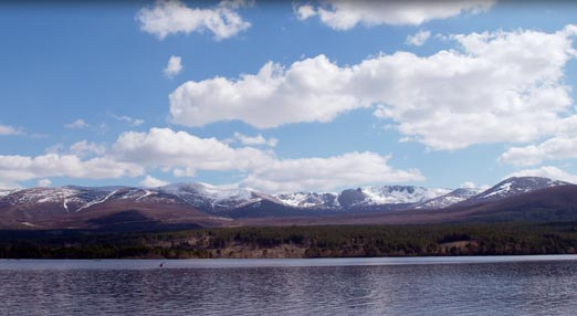 Photograph of the Cairngorms